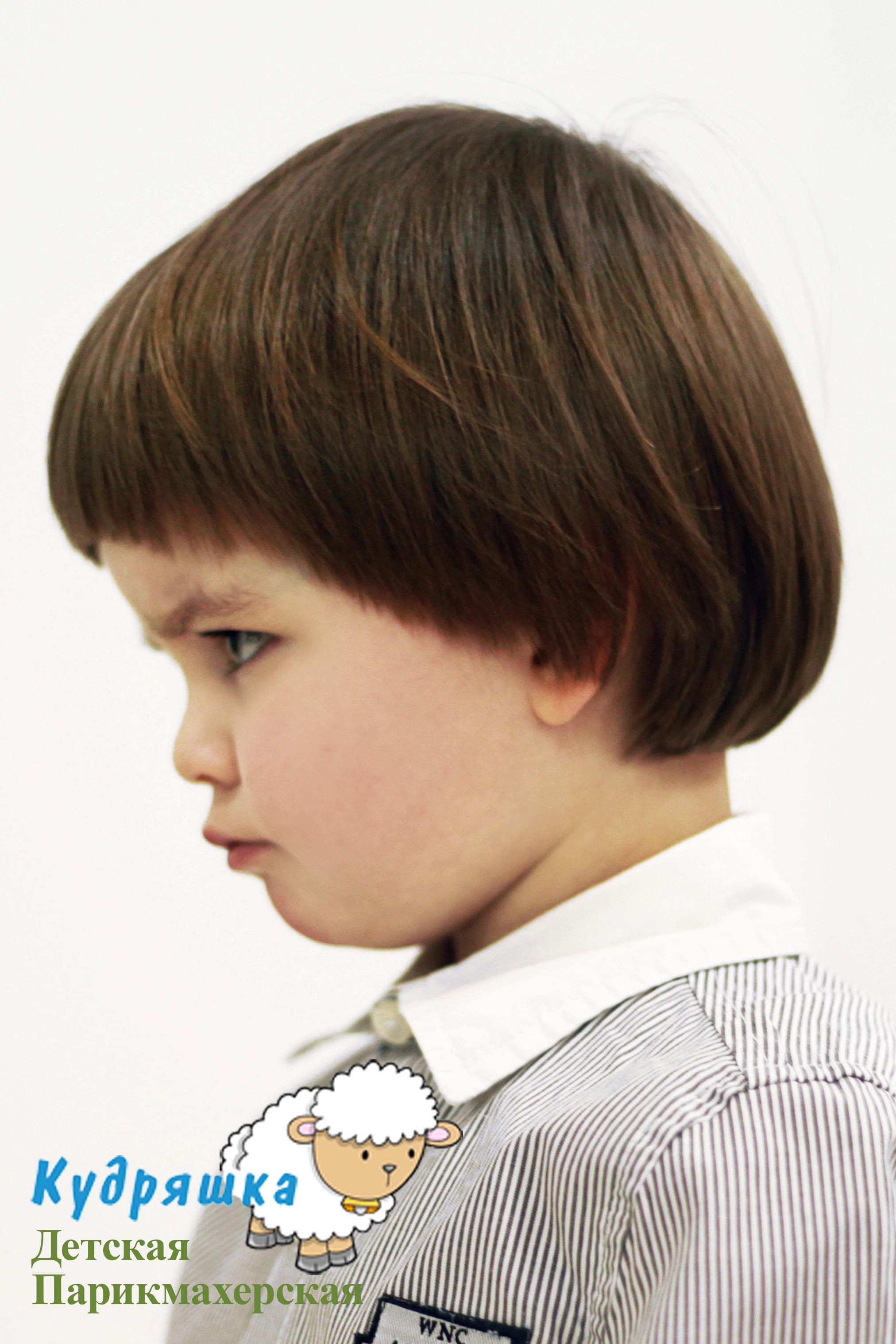 Стрижка для мальчиков с вьющимися волосами